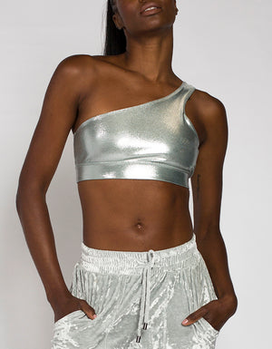 COLD SHOULDER BRA [ SILVER ]