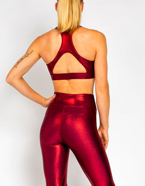 RACER BRA [ METALLIC RED ]