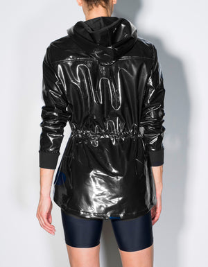 Racing Coat [ black patent ]