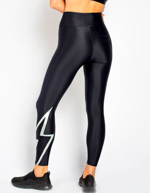 Bolt Legging [ Black/Silver/Onyx ]