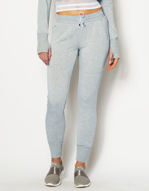 BREATHE SWEATPANTS [ HEATHER GREY ]