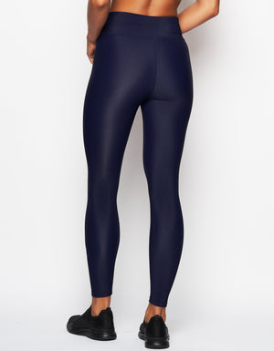 Revive Legging [ navy rib ]