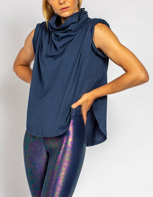 Scarf Face & The Tee [ NAVY ]