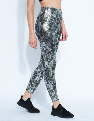 Lace Legging [ Platinum Lace ]