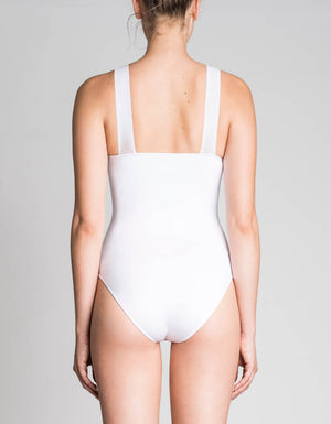 racing bodysuit [ white ]