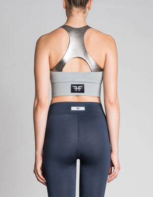 trek bra [ navy metallic combo ]