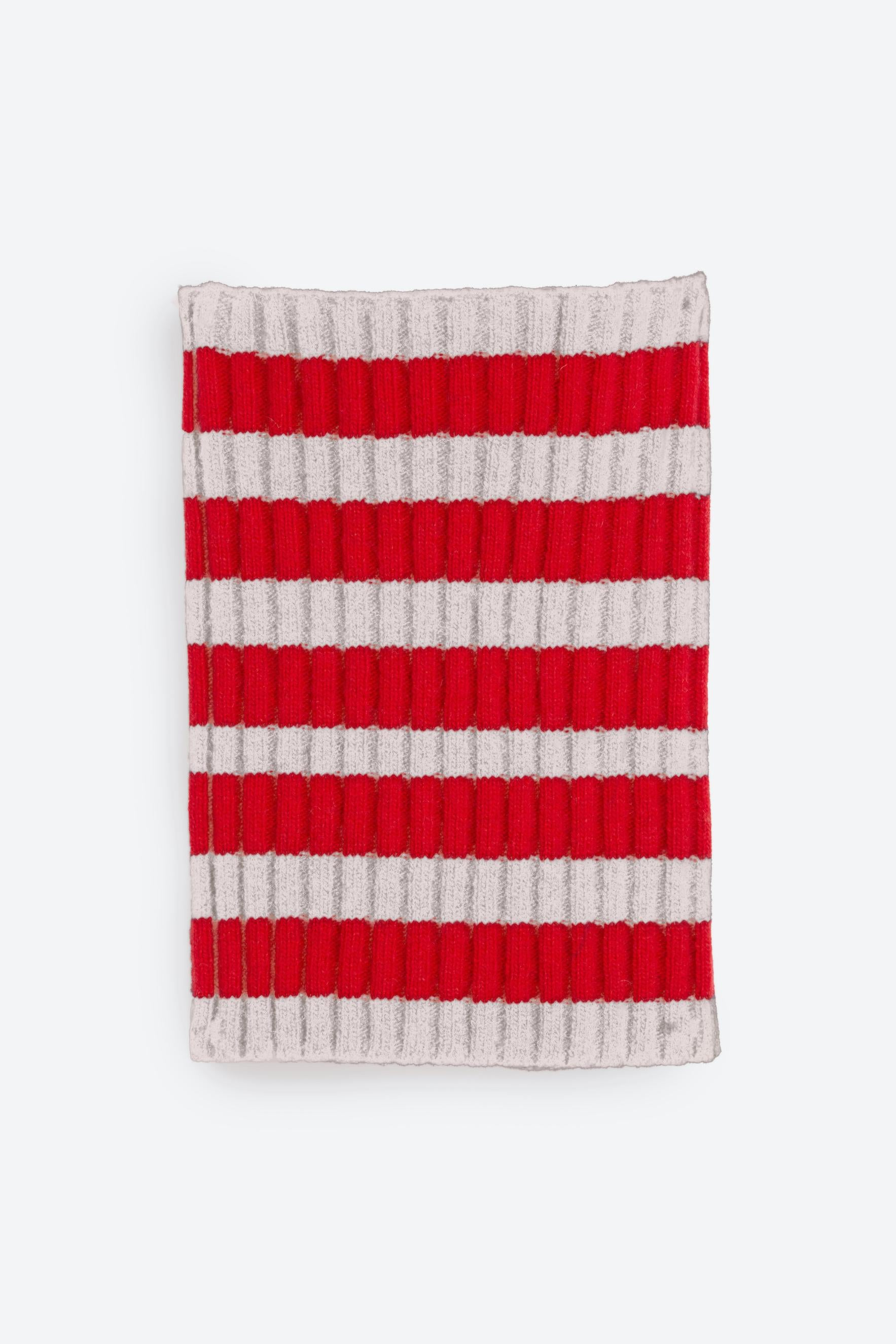 BALTHAZAR | Stripe Beige / Red