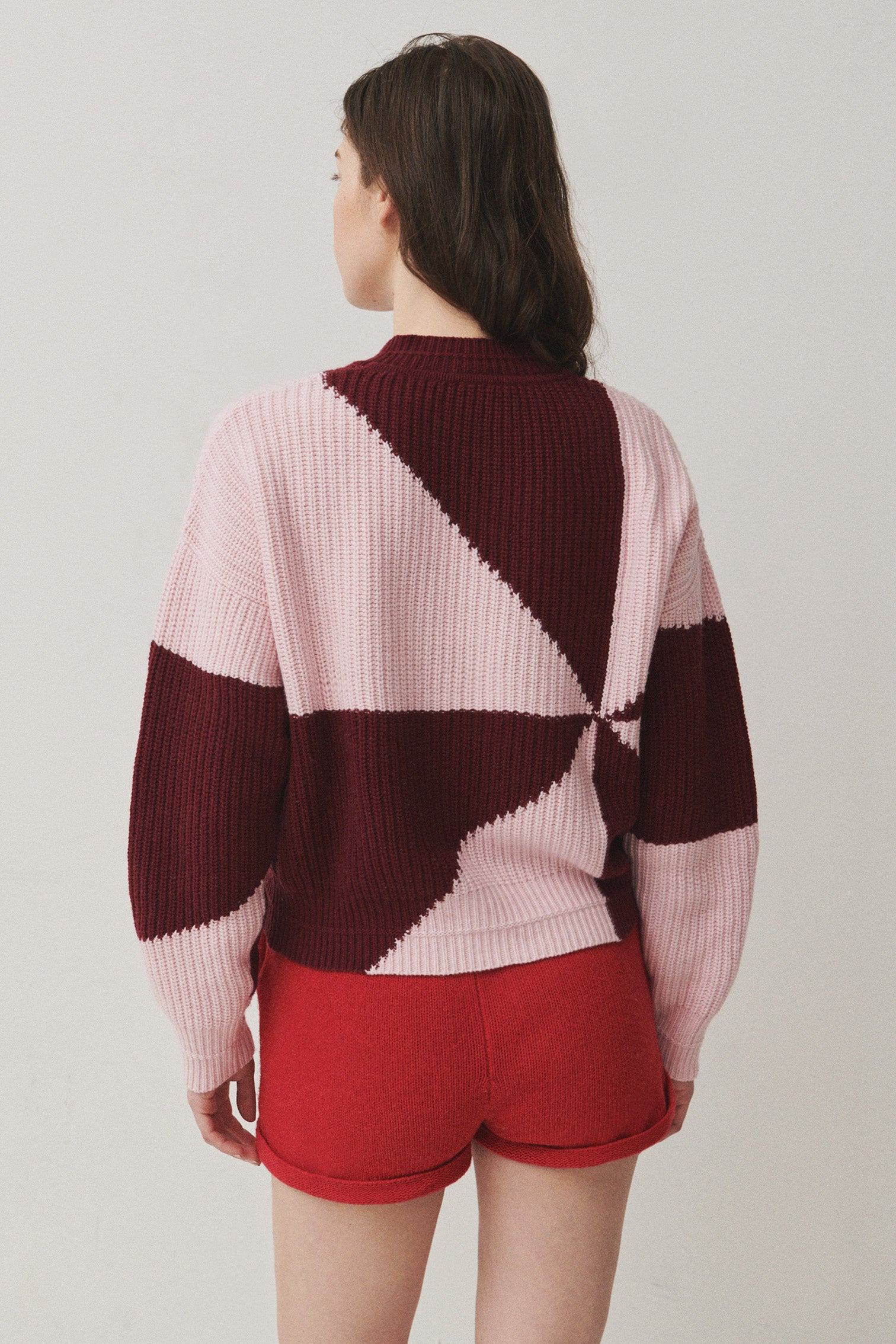 JULES | Light Rosa / Burgundy