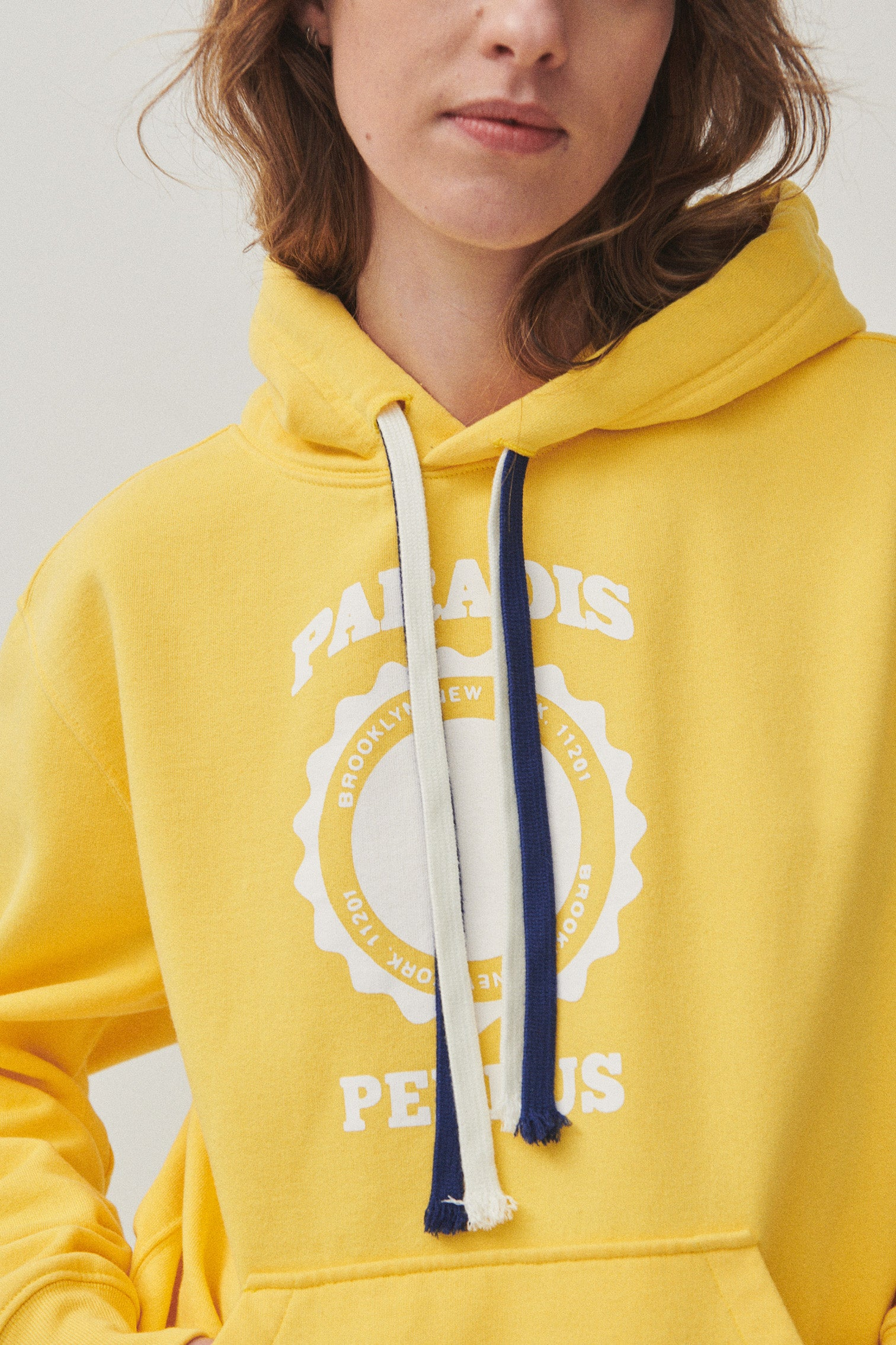 MARIUS COLLEGIATE PRINT | Gold Yellow