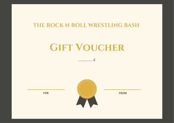 The Rock n Roll Wrestling Bash Gutscheine
