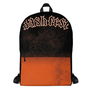"The Rock n Roll Wrestling Bash ""Bashfest"" Backpack"