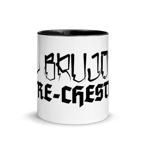 "El Brujo's Gorechestra ""Cholo"" Mug with Color Inside Red"