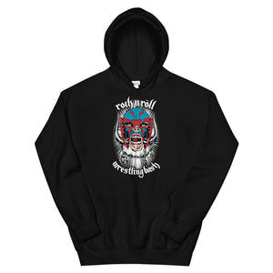 "The Rock n Roll Wrestling Bash ""Motorlucha"" Hoodie"