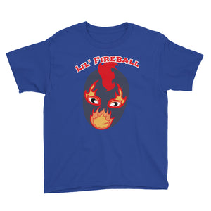 "The Rock n Roll Wrestling Kids ""Lil' Fireball"" Youth Short Sleeve T-Shirt"