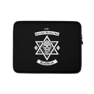 "The Rock n Roll Wrestling Bash ""BashHead"" Laptop Sleeve 13'"