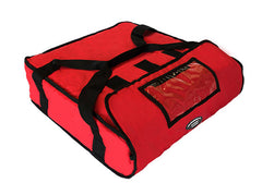 "16""-18"" Large Pizza Delivery Hot Bag (Red)"