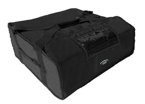 "20"" Jumbo Pizza Delivery Hot Bag (Black)"