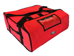 "20"" Jumbo Pizza Delivery Hot Bag (Red)"