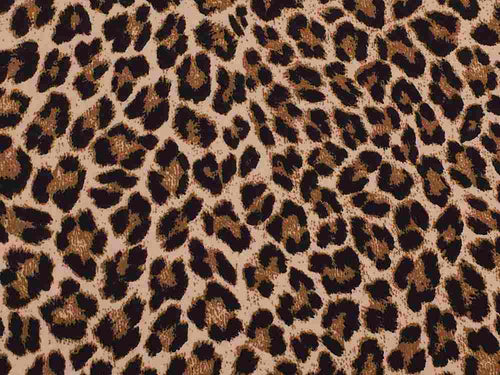 P3004-AN50507 C1 STONE/BLACK ANIMAL YOGA FABRICS PRINTS