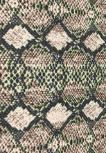 Load image into Gallery viewer, P3115-AN50485--Pointelle Rib Snake Print