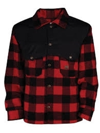 Chemise canadienne LUMBERJACK en laine rouge BIG BILL 472-R