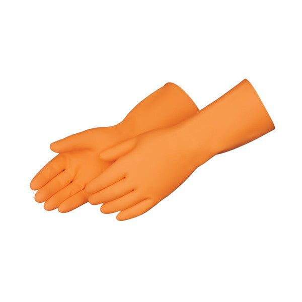 Gant orange latex naturel MARIGOLD 488