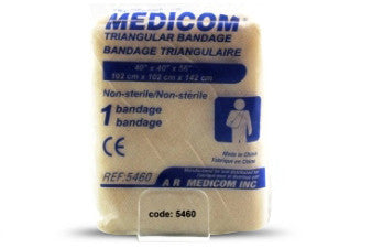 "Bandages triangulaires, 102×142 cm (40""x56"") 5460"
