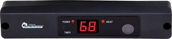 Dr. Infrared Heater DR-910F 10000-Watt 240-Volt Heavy-Duty Hardwired Shop Garage Heater, Wall Ceiling Mounted with Remote Controlled Thermostat