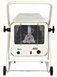 Dr. Infrared Heater DR-910M 10000-Watt 240-Volt Heavy-Duty Hardwired Shop Garage Heater with Cart and Adjustable Thermostat