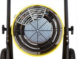 Dr. Infrared Heater Salamander Construction 15000-Watt, Triple Phase, 208-Volt Portable Fan Forced Electric Heater, DR-PS31520