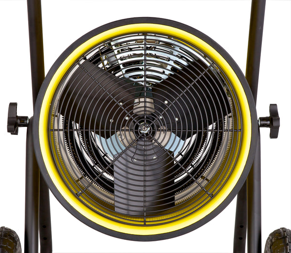 Dr. Infrared Heater Salamander Construction 15000-Watt, Single Phase, 240-Volt Portable Fan Forced Electric Heater, DR-PS11524
