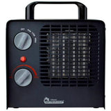 Dr. Infrared Heater DR-838 Family Red 1500-Watt Ceramic Space Heater with Adjustable Thermostat