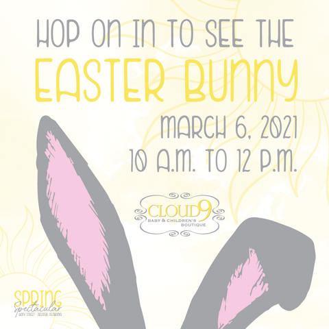 The Easter Bunny is Hopping Into Cloud 9