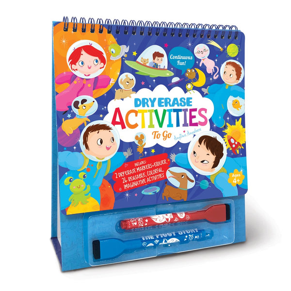 Dry Erase Activities To Go - Space Adventure