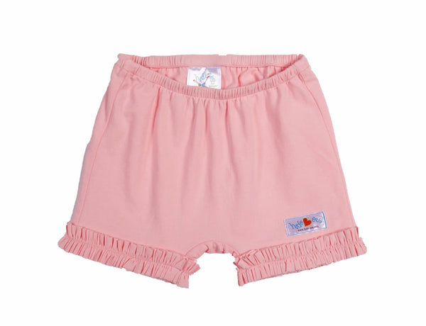 Hide-ees Pale Pink with Ruffles