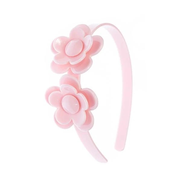 Camellia Flower Headband - Light Pink