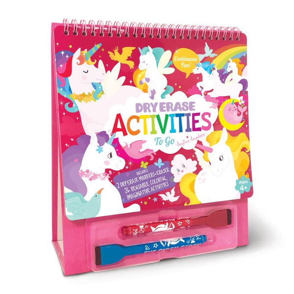 Dry Erase Activities To Go - Unicorn Fantasy