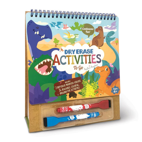 Dry Erase Activities To Go - Dinosaur World