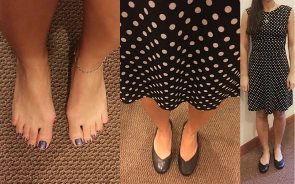 black leather charlotte flats calla shoes customer review