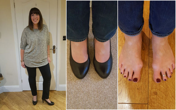 customer review of sophia court shoes for bunions and wide feet