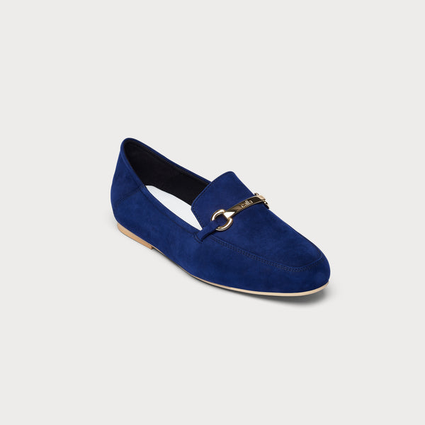 Beatrice - Navy Suede