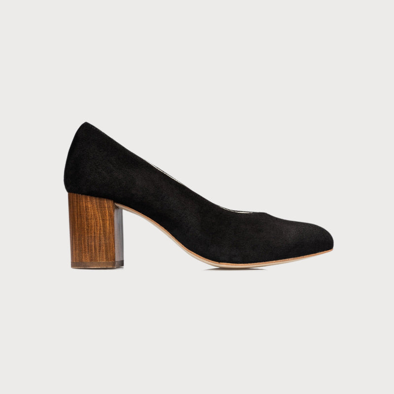 black suede shoes bunions wide feet comfortable stylish court heels