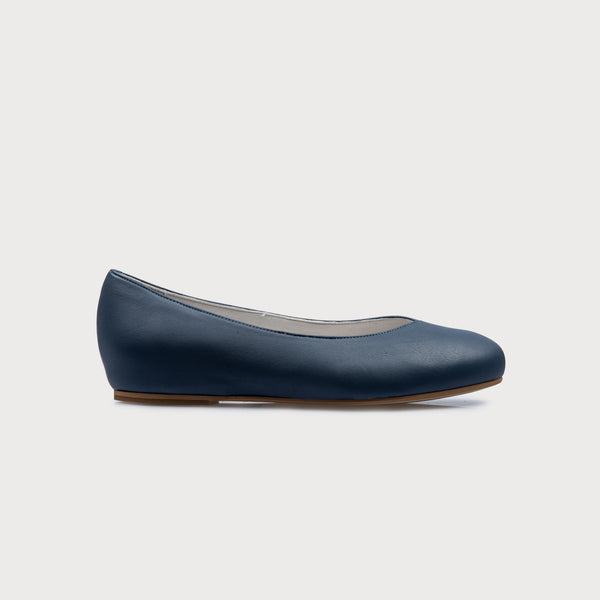 blue leather wide feet comfort shoes bunion style