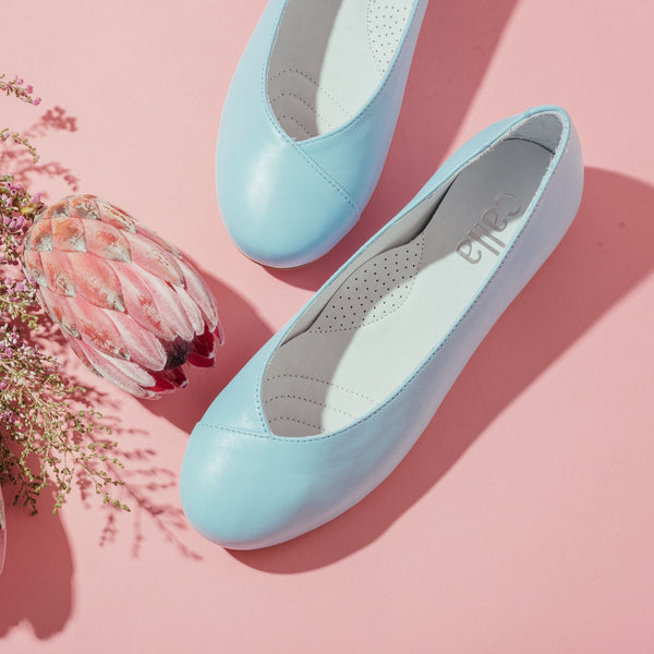 aqua leather flats for bunions