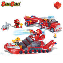 Load image into Gallery viewer, Fire Car And Boat Set