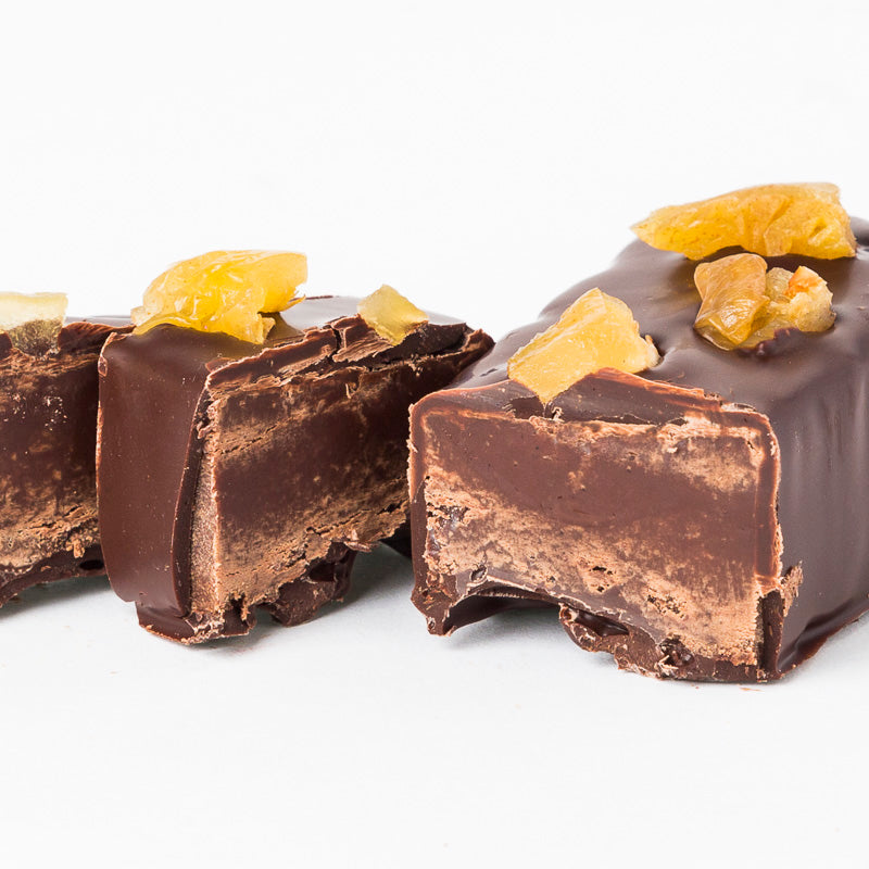 Dark Chocolate, Pear & Olive Oil Fudge