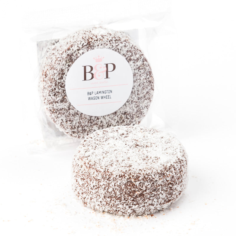 B&P Lamington Wagon Wheel