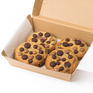 Single Origin Chocolate Chip Cookies (Box of 4)