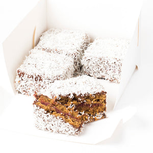 Vegan Lamingtons (Box of 4)