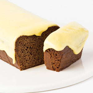 Bake at Home...Gingercake with Lemon Icing